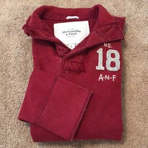 Men's Abercrombie & Fitch Pullover size L